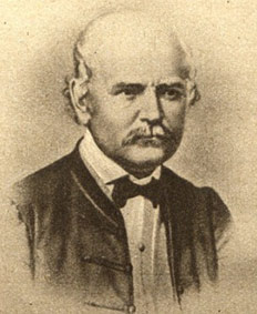 Semmelweis Ignác portré